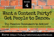 4 truths to building your online brand | Want a Content Party? Get People to Dance.