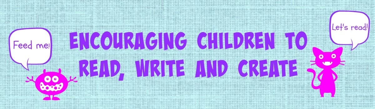 Headline for Encouraging Children to Read, Write and Create
