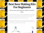 Home Beer Making Kits For Beginners | Best Beer Making Kits For Beginners