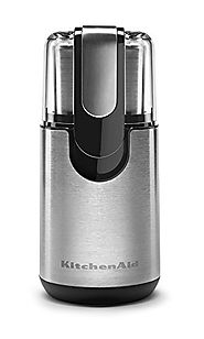 Best Manual Coffee Grinder | KitchenAid BCG111OB Blade Coffee Grinder - Onyx Black