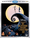 The Nightmare Before Christmas 3D (3D Blu-ray + Blu-ray + DVD + Digital Copy) (Bilingual)