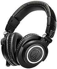 Top Rated Headphones for Mixing Audio Tracks 2016-2017 | Audio-Technica ATH-M50x Professional Studio Monitor Headphones
