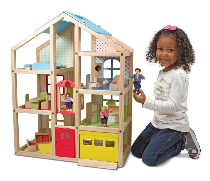 best of 2016 dollhouses for kids top reviews a listly list. Black Bedroom Furniture Sets. Home Design Ideas