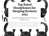 Top Rated Headphones for Sleeping Reviews 2015 | Top Rated Headphones for Sleeping Reviews 2015