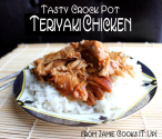 Meal Plan Monday #3 | Tasty Teriyaki Chicken (Crock Pot)