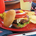 All-American Hamburgers Recipe | Taste of Home Recipes