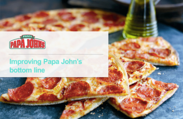 papa johns case study