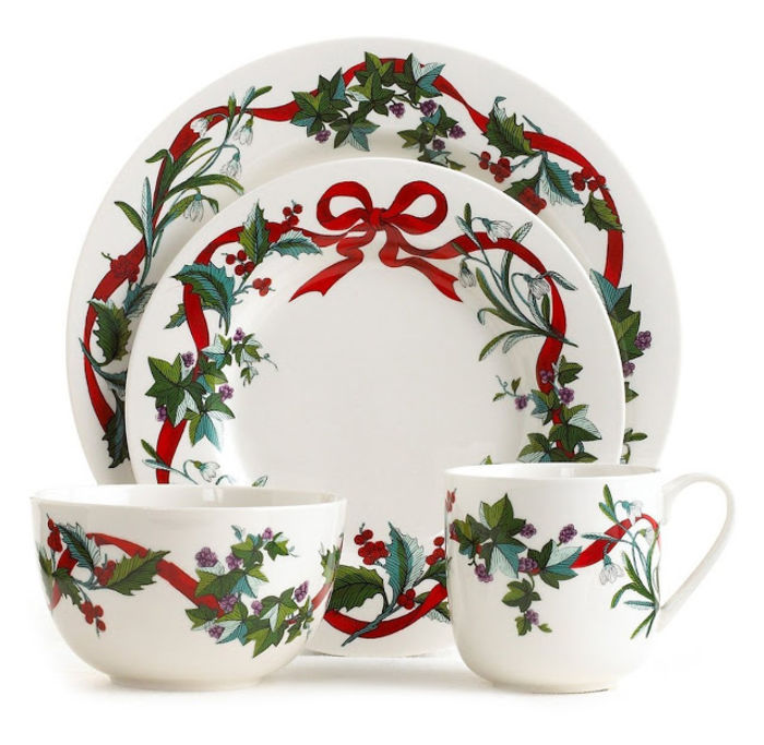 Best-Rated Christmas Holiday Dinnerware Sets On Sale - Reviews And ...