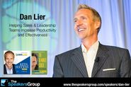 Top Sales Speakers at The Speakers Group | Dan Lier: Creating Extraordinary Sales Results in Challenging Times
