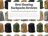 Best Rated Hunting Backpacks Reviews | Best Hunting Backpacks Reviews
