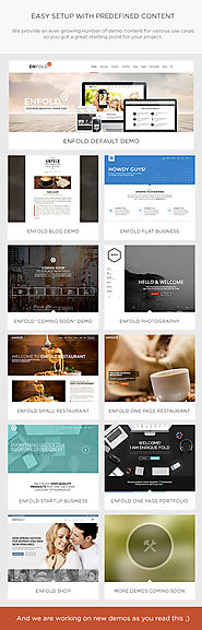 The Top 2014-2015 Wordpress Themes for Photographers | Enfold - Responsive Multi-Purpose Theme