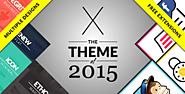 The Top 2014-2015 Wordpress Themes for Photographers | X | The Theme