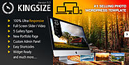 The Top 2014-2015 Wordpress Themes for Photographers | King Size - Fullscreen Background WordPress Theme