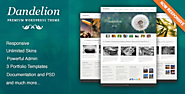 The Top 2014-2015 Wordpress Themes for Photographers | Dandelion - Powerful Elegant WordPress Theme
