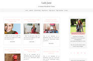 The Top 2014-2015 Wordpress Themes for Photographers | Lady Jane A Genesis Theme