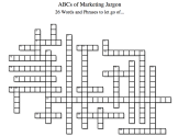 9/16/13 The ABCs of Marketing Jargon