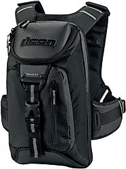 Best Rated Motorcycle Backpacks Reviews | Icon 3517-0282 Black Squad 3 Backpack
