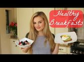 Best Healthy Breakfast Recipes | 3 Healthy Breakfast Ideas | Niomi Smart