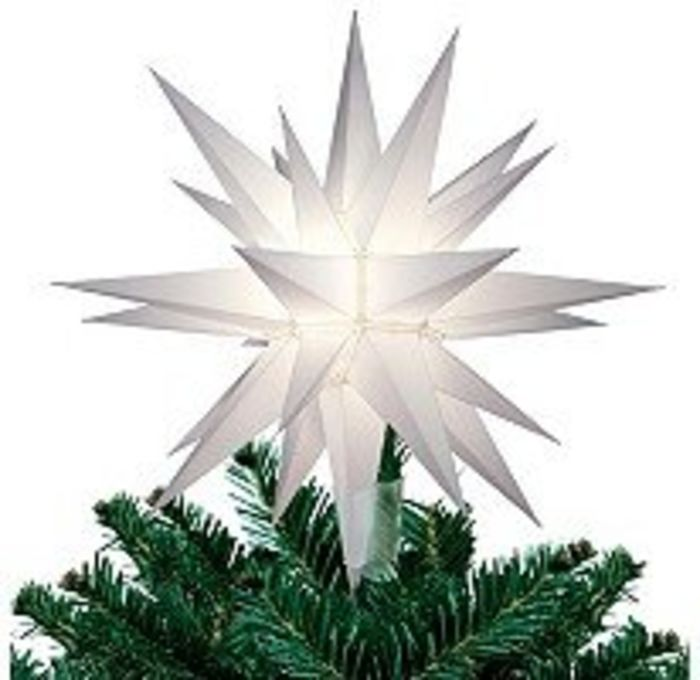 Unique Lighted Christmas Star Tree Toppers Ideas | A ...
