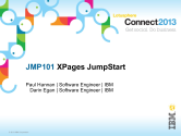 JMP101: XPages JumpStart
