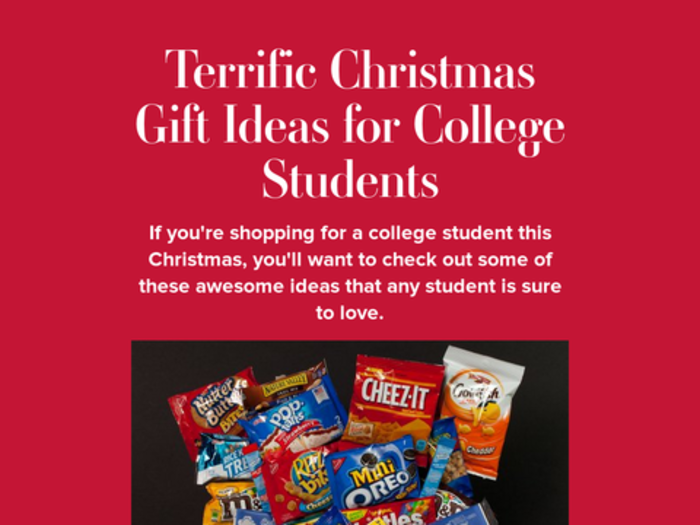 college christmas gift ideas Best christmas gift ideas for college students 2017 - planning to buy christmas gifts for college students find out top christmas gift ideas for college students here.