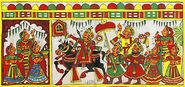 10 Folk Painting styles from India | Phad Paintings