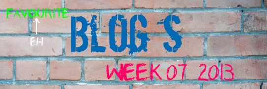 07-2013 Best Blog Posts