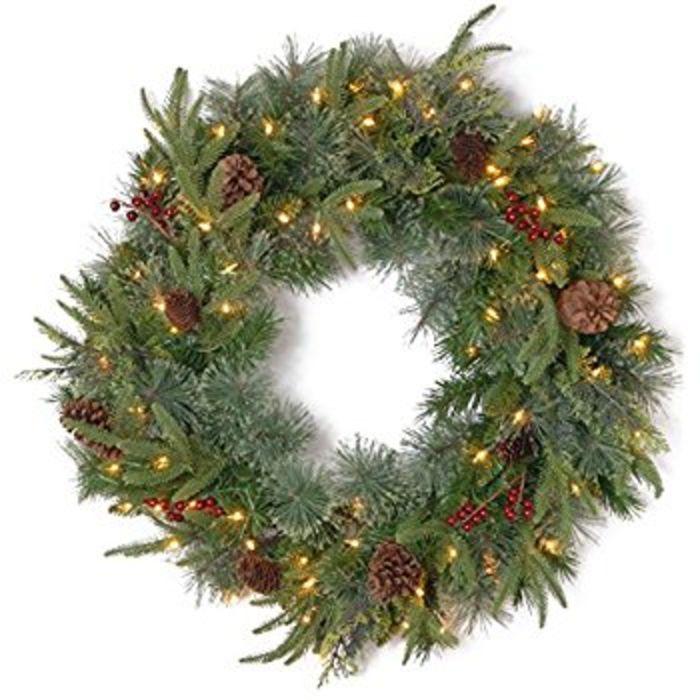 24 Inch Christmas Wreath