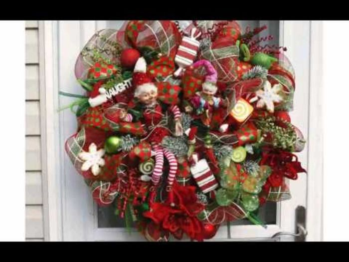 Artificial Christmas Wreaths Decorating Ideas Christmas Wreath Decorating
