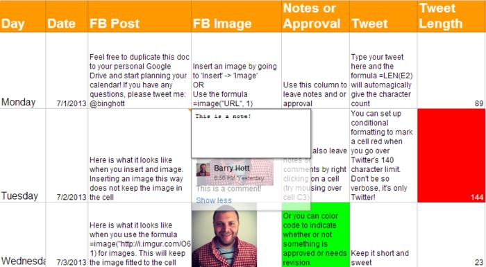 great social media content calendar template ideas a listly list