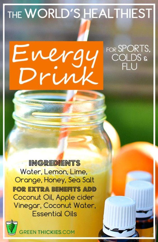 Fitbodybuzz Com S Favorite Homemade Healthy Energy Drinks