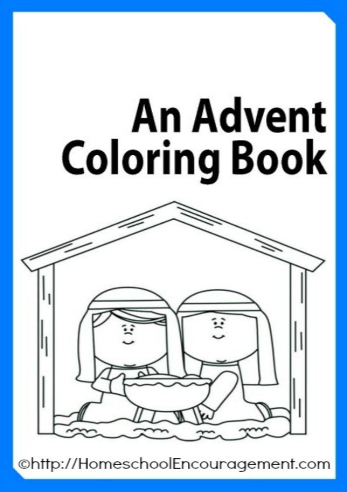 Catholic Alphabet Coloring Pages : Christmas nativity printables a listly list