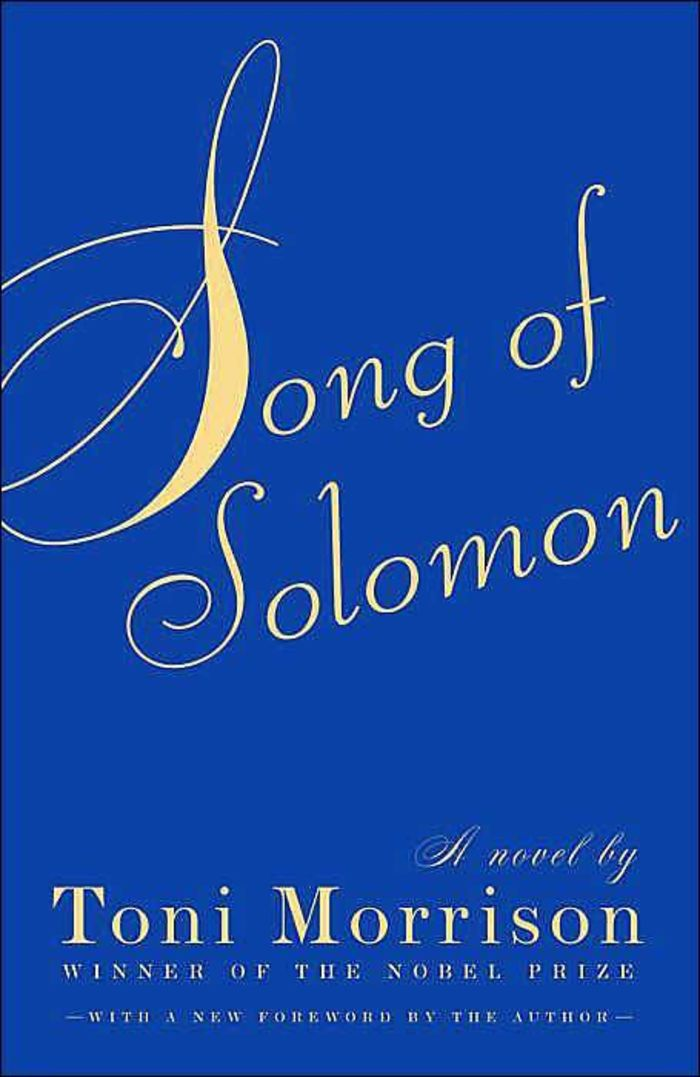 literary analysis of the novel the song of solomon by toni morrison Literature: toni morrison coursework, term papers on literature: toni morrison, literature: toni morrison essays the book called song of solomon, by toni morrison, deals with many real life issues, most of which are illustrated by the relationships between different family members.