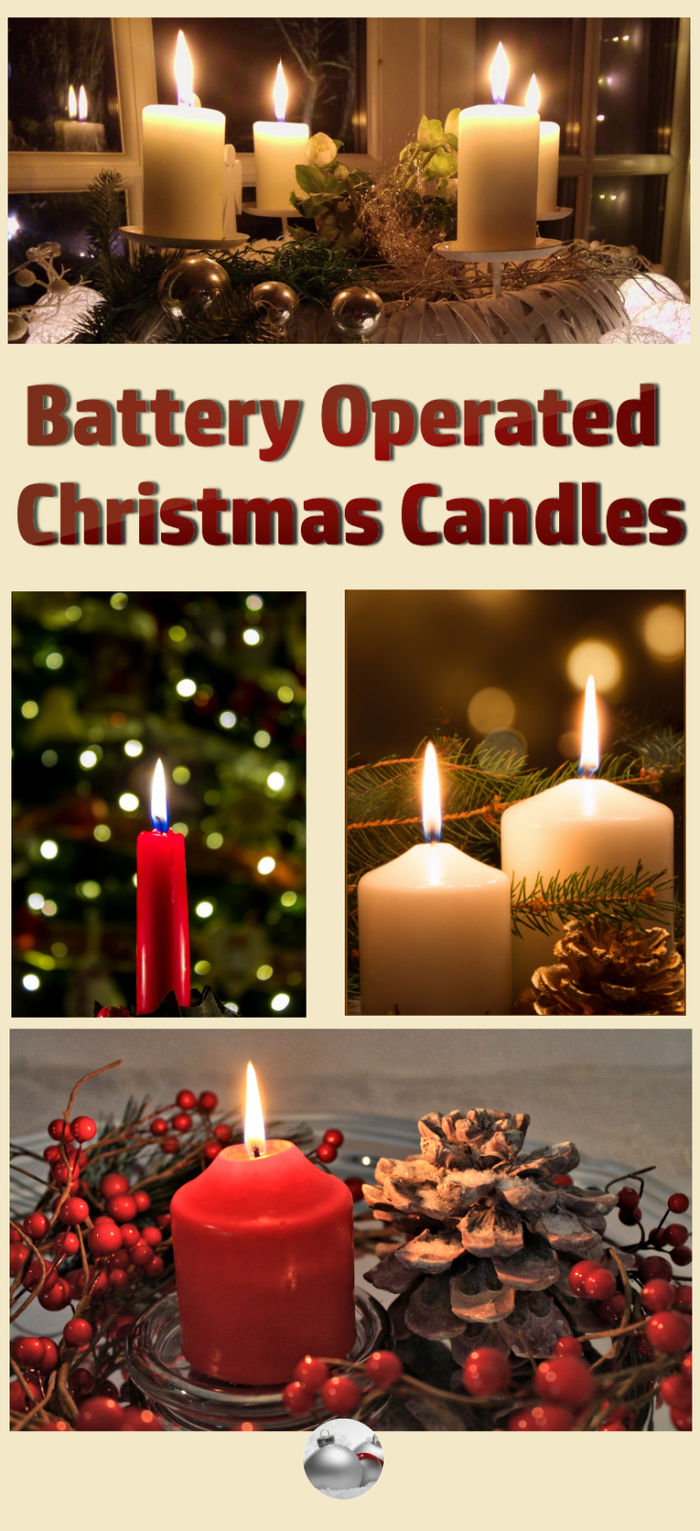 Battery Christmas Candles