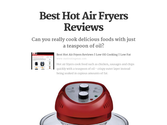 Best Hot Air Fryers Reviews | Best Hot Air Fryers Reviews