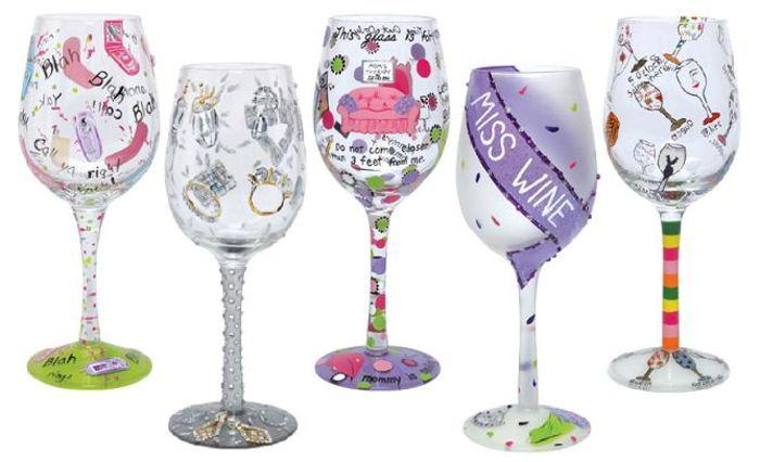 Lolita Wine Glass Sets Unusual And Unique Wine Glasses