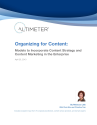 Organizing for Content: Models to Incorporate Content Strategy and Content Marketing in the Enterprise