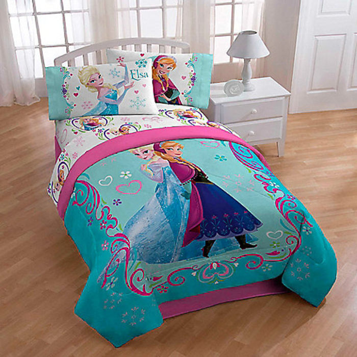 Frozen Twin Size Bed