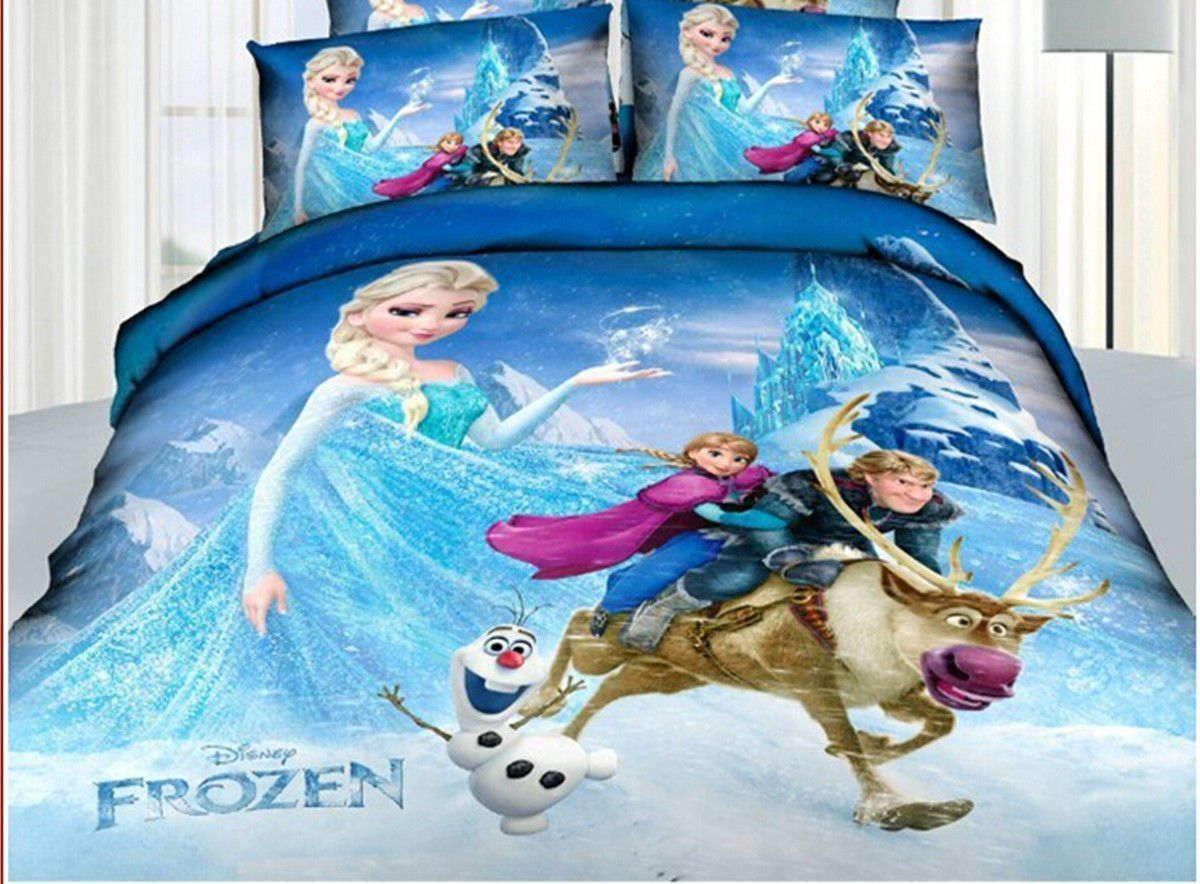 Disney Frozen Bedding Set Full Sheet Sets And Comforters
