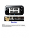 New PS3 Games - PlayStation | The Week in Games:PS3 Gaming news
