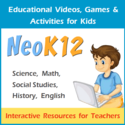 Recommended Education Tools and Resources | Educational Videos and Games for Kids about Science, Math, Social Studies and English