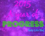 My Word for 2015 | A New Year and a New Me - Progress