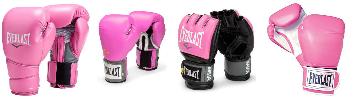 Everlast Pink Boxing Gloves - Women's Boxing Gloves in Pink