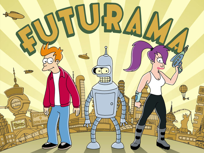 The plight of robots in futurama a cartoon show