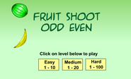 Lige og ulige tal | arly Math: Fruit Shoot Odd Even