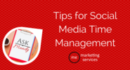 Ask Mandy Q&A - Your Social Media Marketing Questions Answered! | Ask Mandy Q&A: Tips for Social Media Time Management - ME Marketing Services, LLC