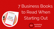 Ask Mandy Q&A - Your Social Media Marketing Questions Answered! | Ask Mandy: 7 Business Books to Read When Starting Out - ME Marketing Services, LLC