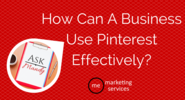 Ask Mandy Q&A - Your Social Media Marketing Questions Answered! | Ask Mandy Q&A: How Can a Business use Pinterest Effectively? - ME Marketing Services, LLC