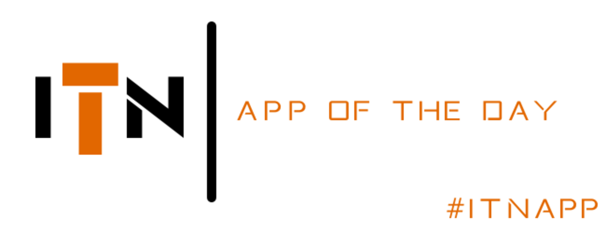 Headline for App of the Day (#ITNapp)