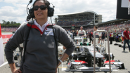 First lady of Formula 1 takes control of the track - CNN.com